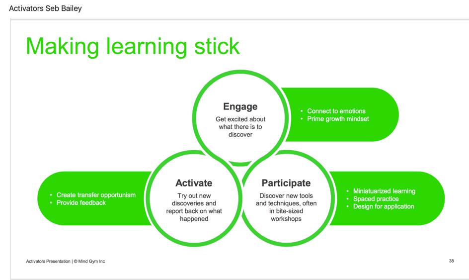Make learning stick - Seb Bailey