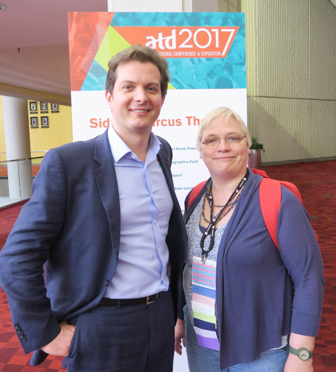 Seb Bailey en Katrin Naert op ATD 2017