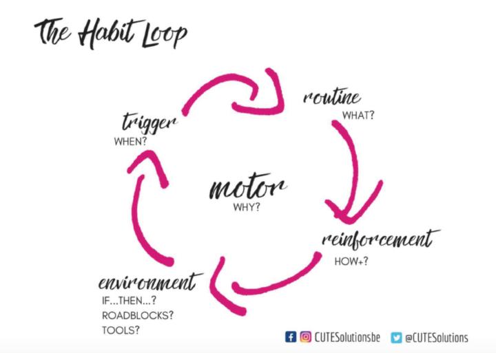 The habit loop - Cute Solutions