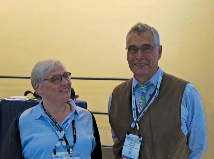 Dereck Shirely en Katrin Naert op ATD 2019