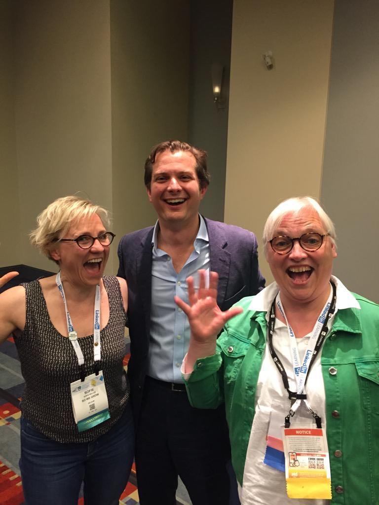 Seb Bailey met Sofie Willox en Katrin Naert op ATD 2019: een plezierig weerzin