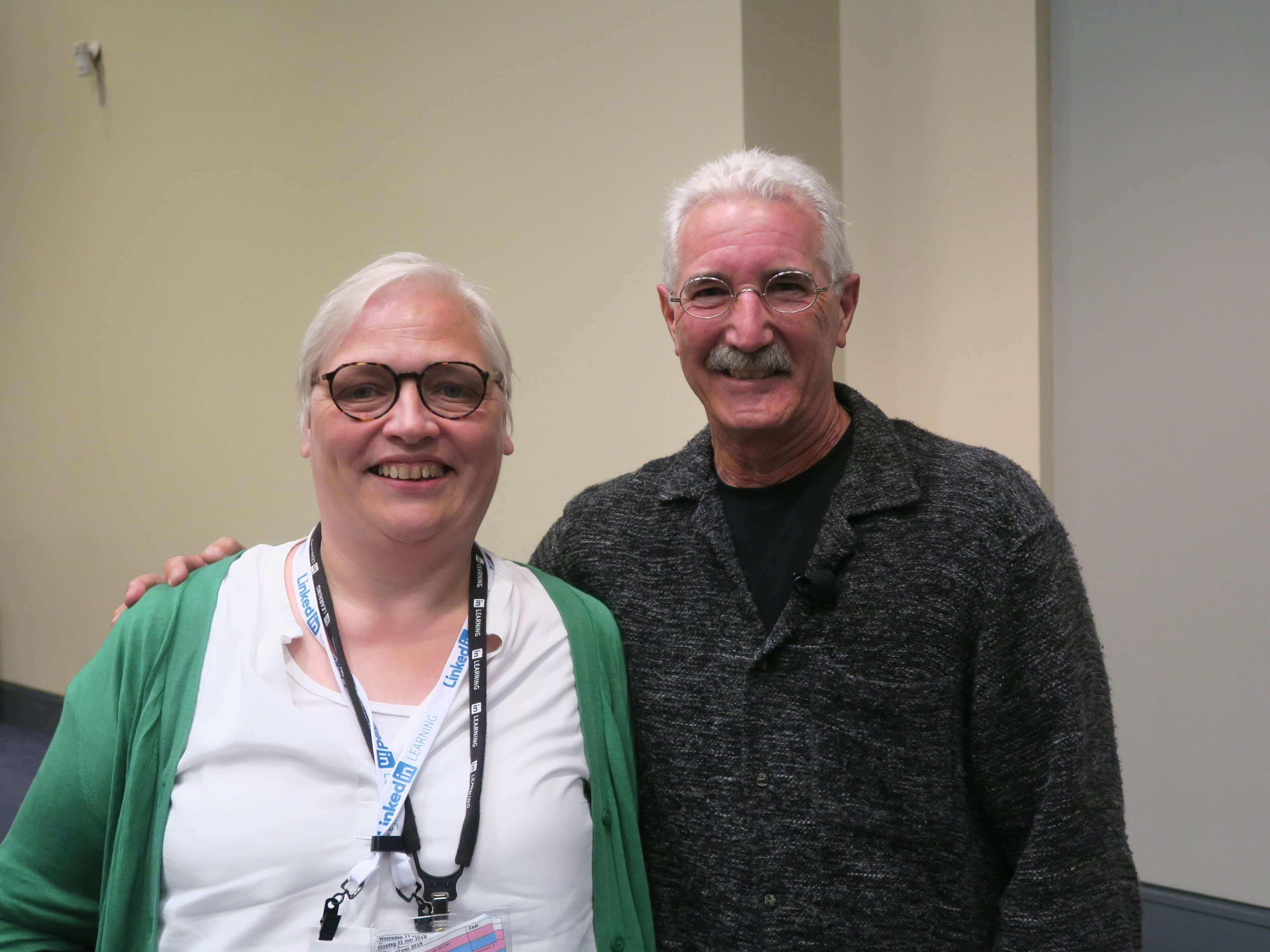 Ken Novak en Katrin Naert op ATD 2019