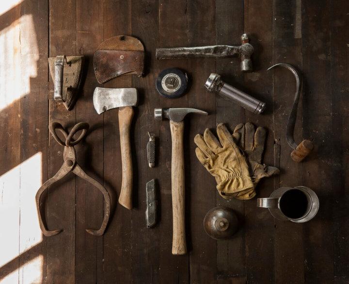 Oud gereedschap