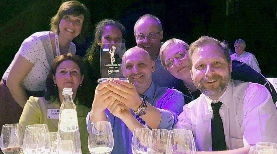 Epsilon Learning Award 2017 De prijs van de jury voor het Brugmann Ziekenhuis 4/4