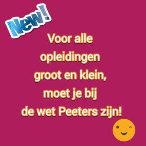 De wet Peeters