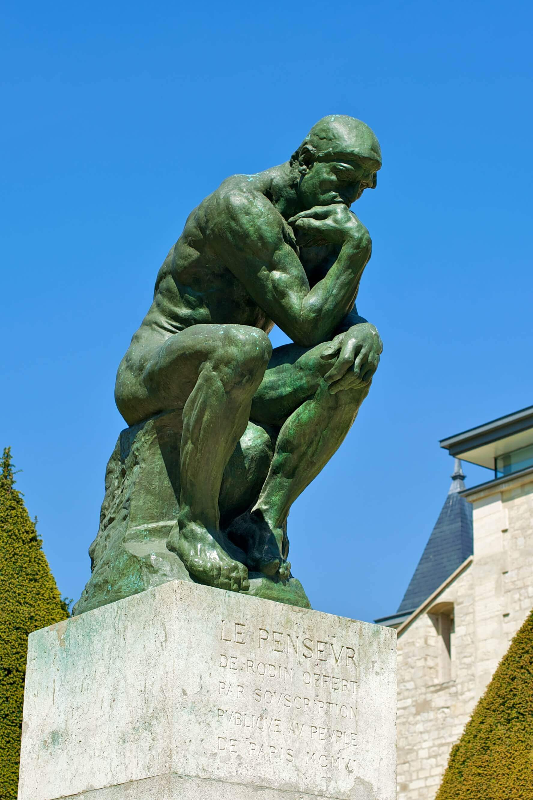 'De denker' van Rodin