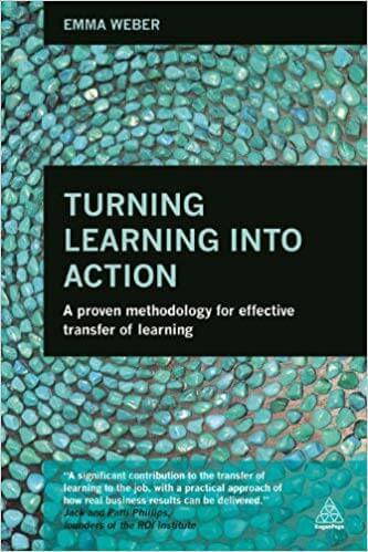 Boek 'Turning Learning into action' - Emma Weber