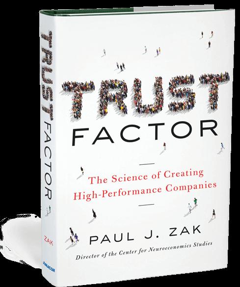 Het boek 'Trust Factor' van Paul Zak