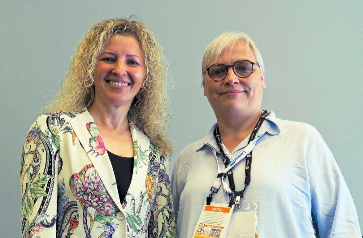 Carmen Simon en Katrin Naert op ATD 2019