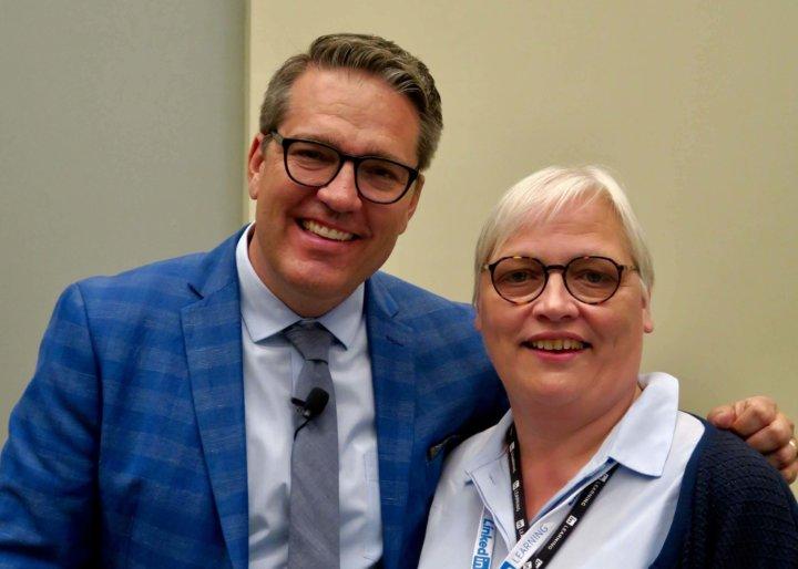 Richard Fagerlin en Katrin Naert op ATD 2019