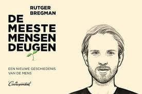 Boek 'De meeste mensen deugen' van Rutger Bregman